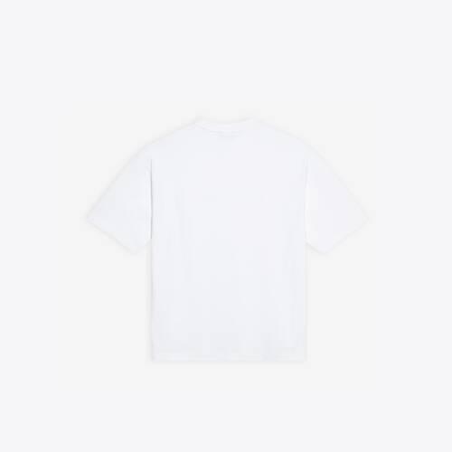 real balenciaga medium fit t-shirt